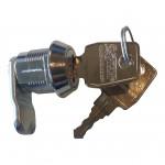 lille lås med nøgler